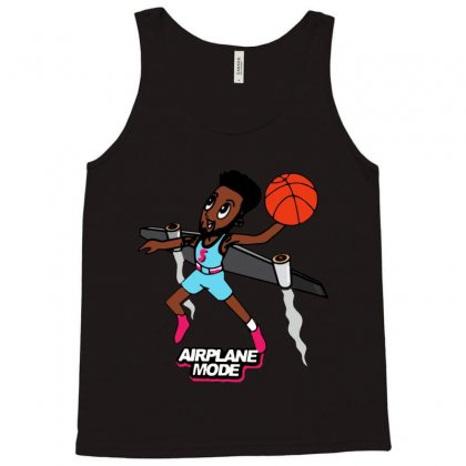 Airplane Mode Derrick Jones Tank Top Designed By Ninja Art