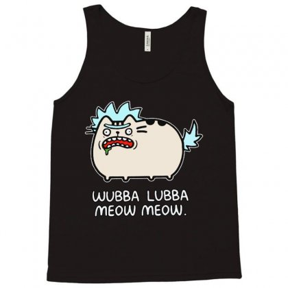 Cat Wubba Lubba Meow Meow Tank Top Designed By Ninja Art