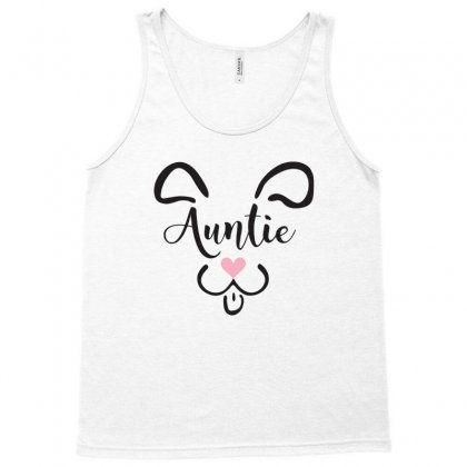 Cute Dog Auntie Tank Top Designed By Hoainv