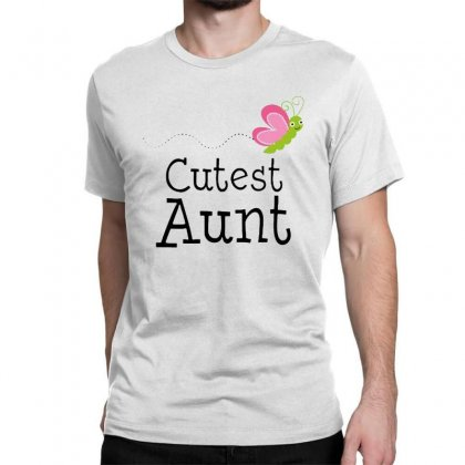 Cutest Aunt Classic T-shirt Designed By Hoainv