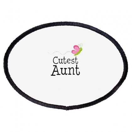 Cutest Aunt Oval Patch Designed By Hoainv