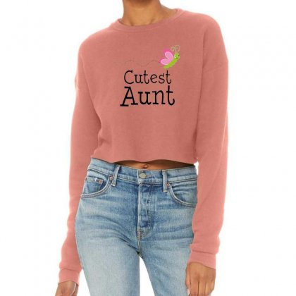 Cutest Aunt Cropped Sweater Designed By Hoainv