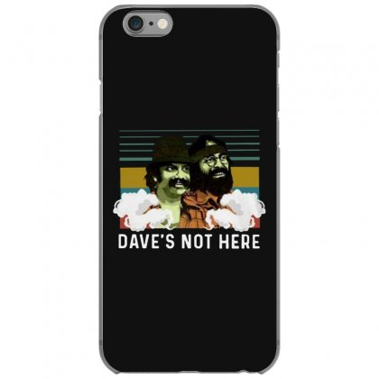 Cheech And Chong Dave's Not Here Vintage Iphone 6/6s Case Designed By Ninja Art