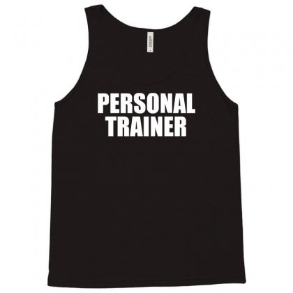 Personal Trainer Tank Top Designed By Funtee