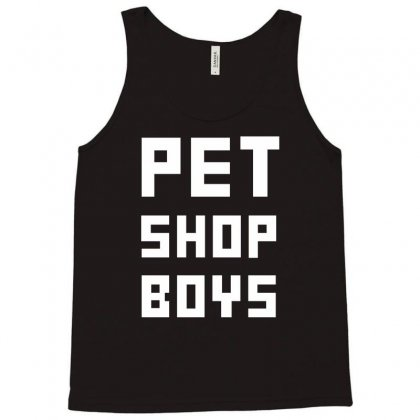 Pet Shop Boy Tank Top Designed By Funtee