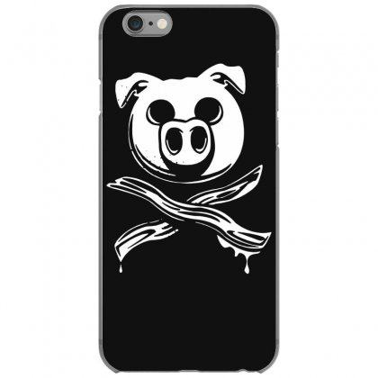 Pig Bacon Cross Bones Pirate Iphone 6/6s Case Designed By Funtee