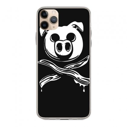 Pig Bacon Cross Bones Pirate Iphone 11 Pro Max Case Designed By Funtee