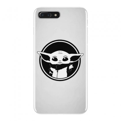 Baby Yoda Black And White Iphone 7 Plus Case Designed By Ninja Art