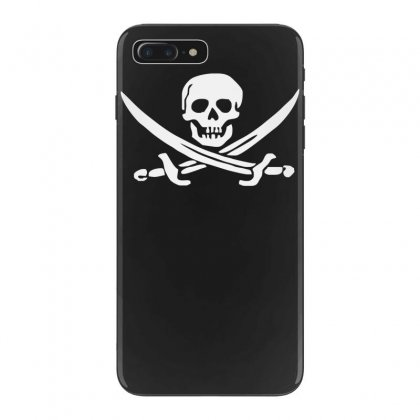 Pirate Skull Sword Music Band Metal Biker Guitar Tee New Iphone 7 Plus Case Designed By Funtee