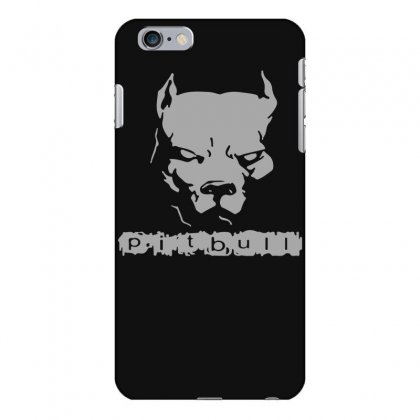 Pitbull American Pit Bull Spiked Dog Collar Iphone 6 Plus/6s Plus Case Designed By Funtee