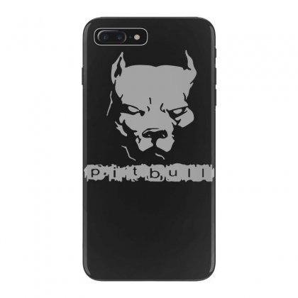 Pitbull American Pit Bull Spiked Dog Collar Iphone 7 Plus Case Designed By Funtee