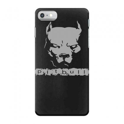 Pitbull American Pit Bull Spiked Dog Collar Iphone 7 Case Designed By Funtee