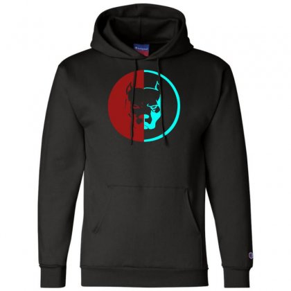 Pitbull Syndicate Logo Dogs Champion Hoodie Designed By Funtee