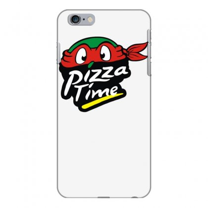 Pizza Time Turlte Iphone 6 Plus/6s Plus Case Designed By Funtee