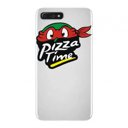 Pizza Time Turlte Iphone 7 Plus Case Designed By Funtee