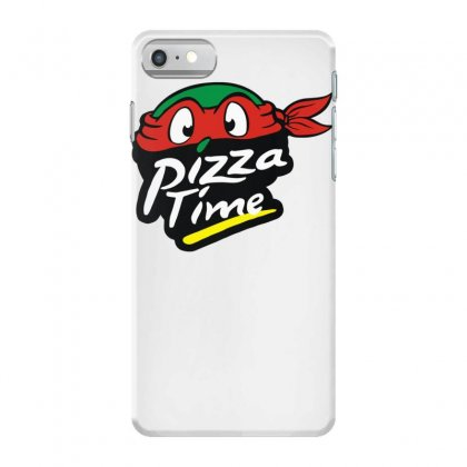 Pizza Time Turlte Iphone 7 Case Designed By Funtee