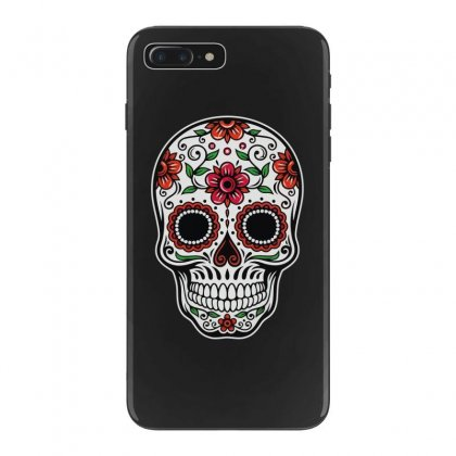 Calavera Day Of The Dead Skull Iphone 7 Plus Case Designed By Ninja Art