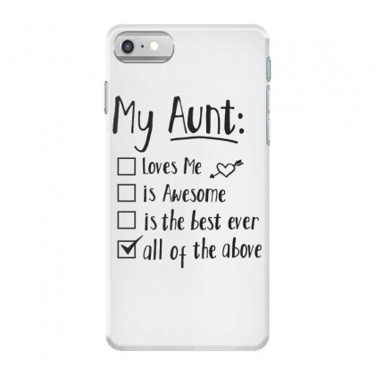 My Aunt To Do List Iphone 7 Case Designed By Hoainv