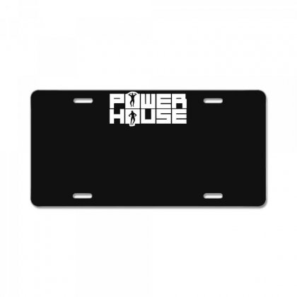 Power House License Plate Designed By Funtee