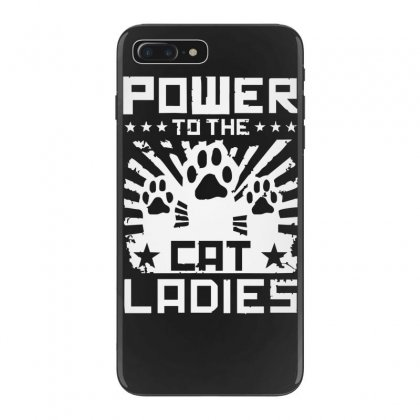 Power To The Cat Ladies Iphone 7 Plus Case Designed By Funtee