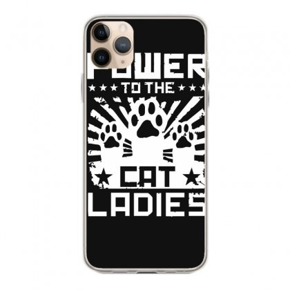 Power To The Cat Ladies Iphone 11 Pro Max Case Designed By Funtee