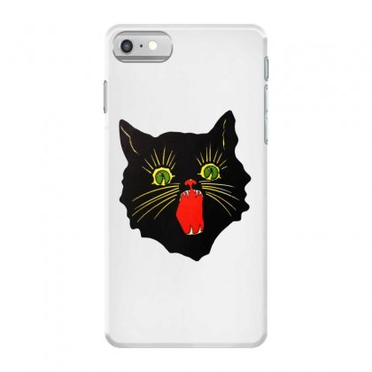Cat Cat Painting Whiskers Iphone 7 Case Designed By Ninja Art