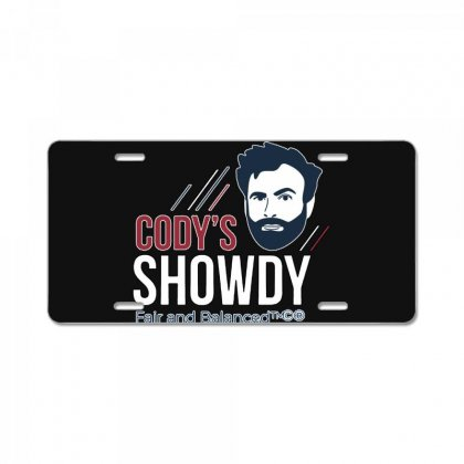 Cody's Showdy License Plate Designed By Ninja Art