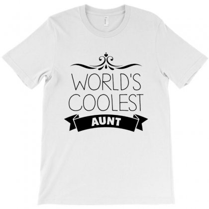 World's Coolest Aunt T-shirt Designed By Hoainv