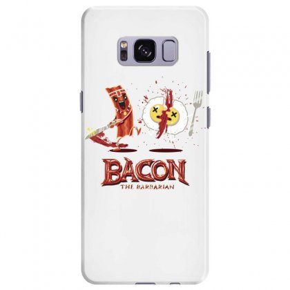 Bacon   Conan The Babarian Samsung Galaxy S8 Plus Case Designed By Hoainv