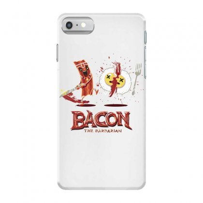 Bacon   Conan The Babarian Iphone 7 Case Designed By Hoainv
