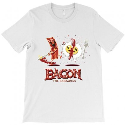 Bacon   Conan The Babarian T-shirt Designed By Hoainv