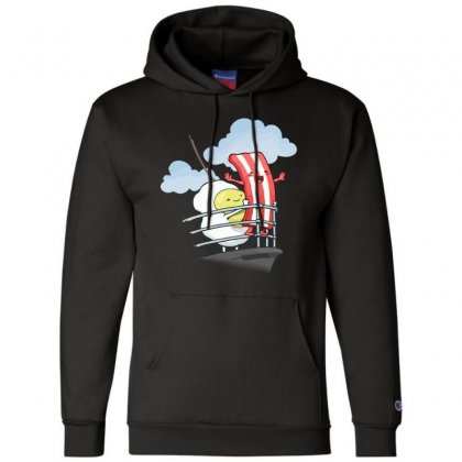 Bacon Awesome Champion Hoodie Designed By Hoainv