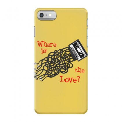 Where Is The Love Iphone 7 Case Designed By Scrappychoco