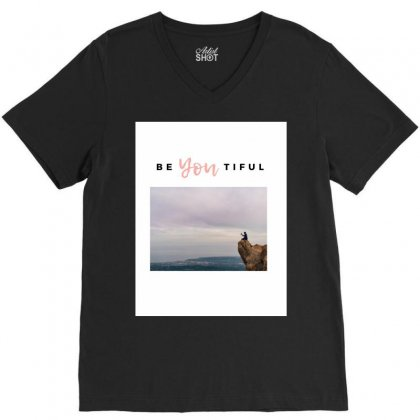 Beyoutiful V-neck Tee Designed By Say2020