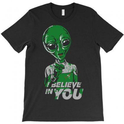 I Believe In You T-shirt Designed By Cuser621