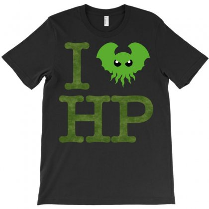 I Love Lovecraft T-shirt Designed By Cuser621