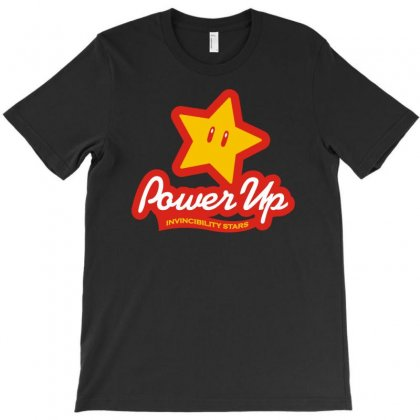 Power Up T-shirt Designed By Fanshirt