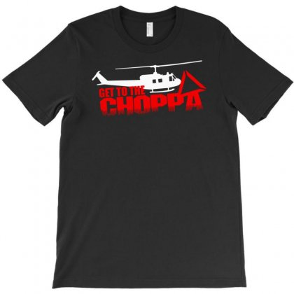 Predator Arnold Schwarzenegger Get To The Choppa Movie T-shirt Designed By Fanshirt
