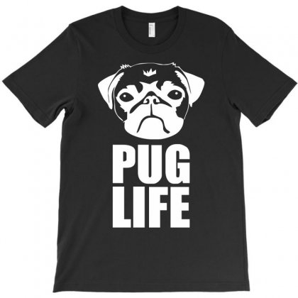 Pug Life Dog T-shirt Designed By Fanshirt