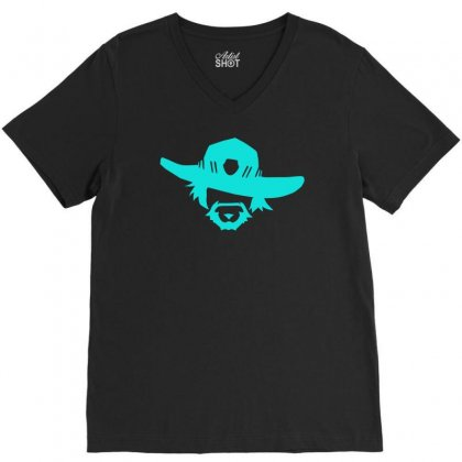 High Noon V-neck Tee Designed By Sopy4n