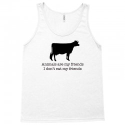 animals are my friends animal rights Tank Top | Artistshot