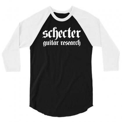 Schecter 3/4 Sleeve Shirt Designed By Ismi