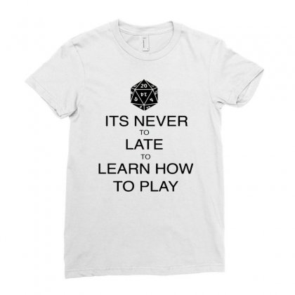 Role Playing Game Ladies Fitted T-shirt Designed By Sopy4n