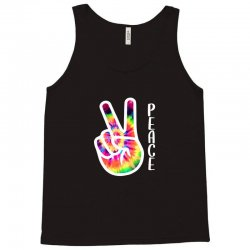 peace sign hand for dark Tank Top | Artistshot