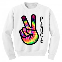 peace sign hand for light Youth Sweatshirt | Artistshot