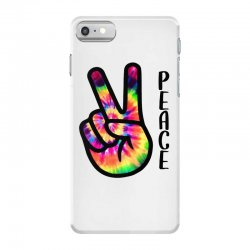 peace sign hand for light iPhone 7 Case | Artistshot