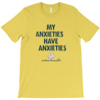 Anxieties T-shirt Designed By Disgus_thing