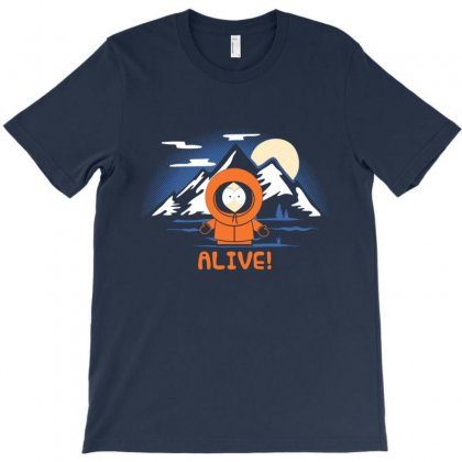 Alive T-shirt Designed By Disgus_thing
