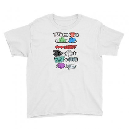 Writing Youth Tee Designed By Stevejr
