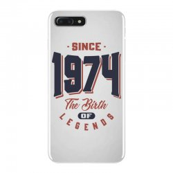 Since 1974 The Birth Of Legends Birthday Gift iPhone 7 Plus Case | Artistshot